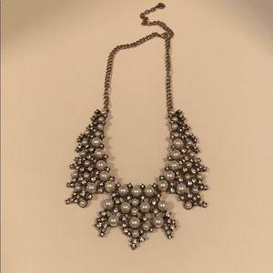 Loft Pearl Statement Necklace